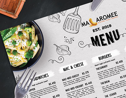 Menu Design for Macaromee