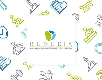 Remedia – Brand identity