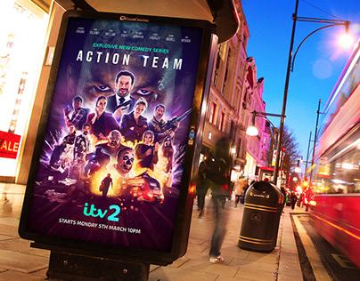 Action Team Key Art