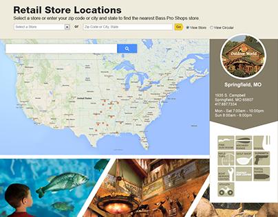 Store Map - Bass Pro Shops