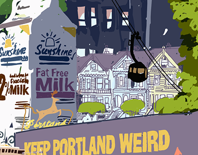 Portland Scribbles