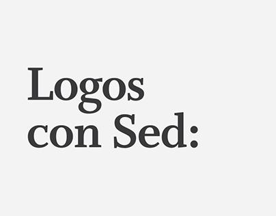 Logos con Sed: