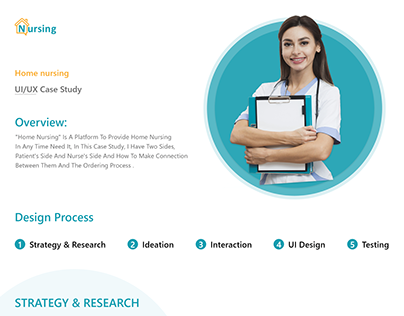 Home Nursing UI/UX Case Study