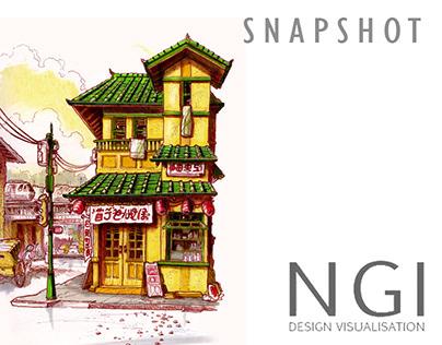 Concept Design Portfolio Snapshot