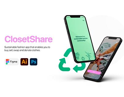 ClosetShare UX/UI