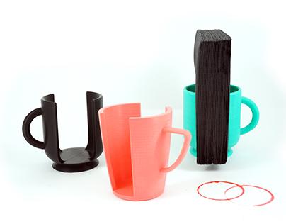 Mug Napkin Holder