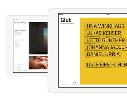 GLUT - digitales Kunstmagazin