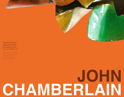 John Chamberlain: Artist Event