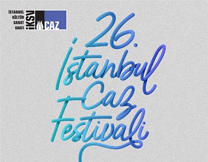 İKSV Caz - 26. İstanbul Caz Festivali