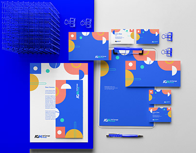 Ad Garage Media brand identity design
