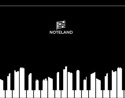 Noteland e-commerce