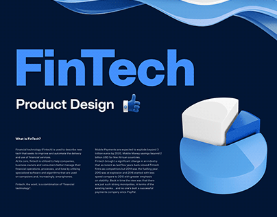FinTech - Product Design