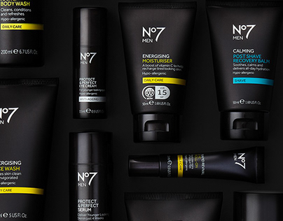 NO7 MENS RANGE