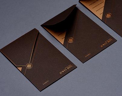 JEWEL BOX |guarantee card set design