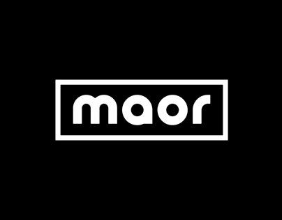 Maor - Visual identity
