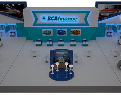 BCA Finance Booth at IIMS 2015, JIEXPO, Indonesia