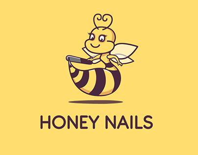 История разработки логотипа для салона ногтей