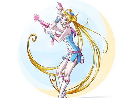 Character Design Challenge: Sailor Moon