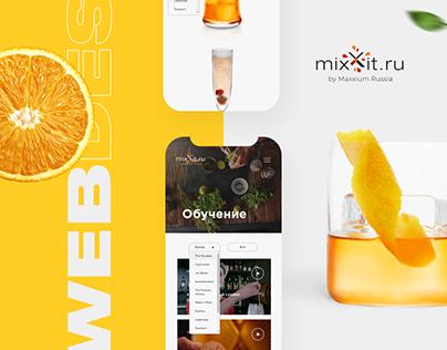 Mixxit by Maxxium Russia - Identity and Web Design
