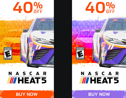 NASCAR Heat 5 - WEB BANNERS FOR POTENTIAL EMPLOYMENT