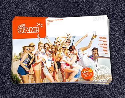 Jam! Reisen – Editorial Design