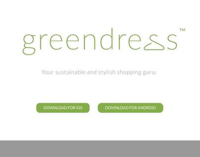 Greendress™: App Concept and Web Design
