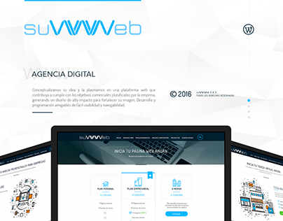 Web site - suWWWeb / Agencia Digital