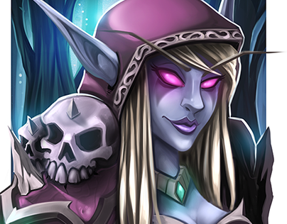 Lady Sylvanas Fan Art