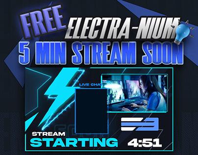 FREE! 5 min Animated Stream Starting Soon Screen - 3