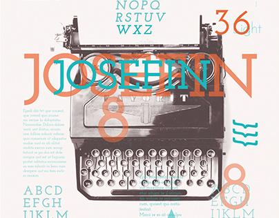 Type Specimen: Josefin Slab