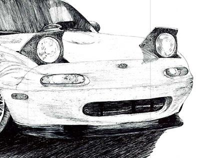 Auto Sketches Vol. 1