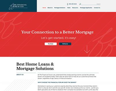 Verico Financial Forum Website Design