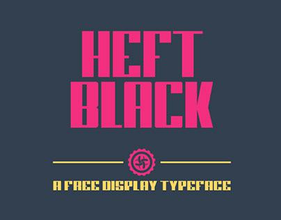 HEFT BLACK - FREE FONT