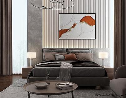 Simple minimalist bedrooms
