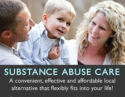 Postcard for Substance Abuse Care