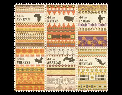 American Cultural Diversity | stamp series