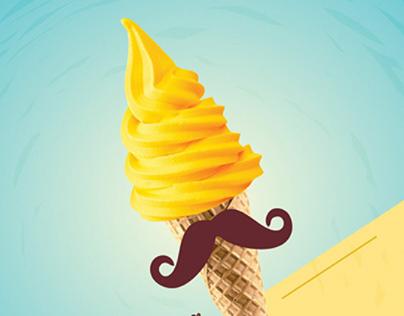 Mr. Softy Logo & Branding
