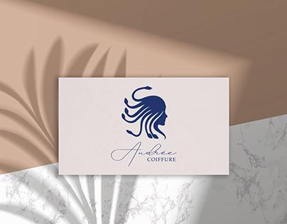 Conception logo - Audrée Coiffure