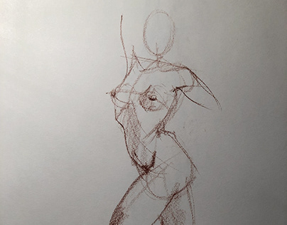 2-3 minute gesture drawings
