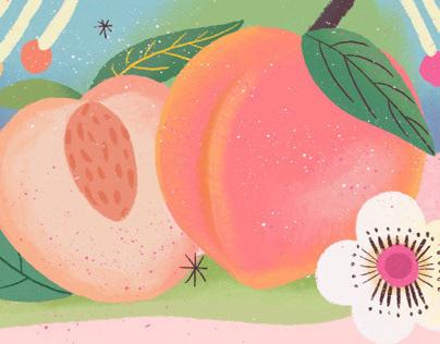 包装插画设计| Veones Illustrations