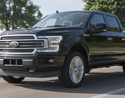 Black Ford F-150 Limited