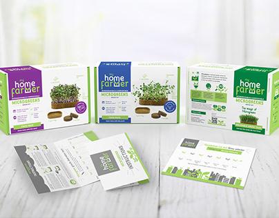 Brand & Packaging Design for Microgreens Grow Kit