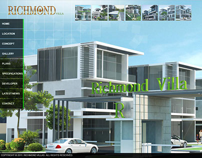 Richmond Villa Website