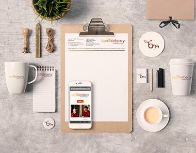 Marketing company brand design