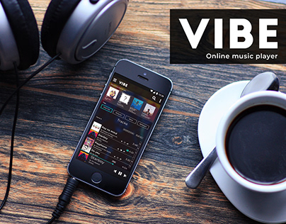 Vibe online music player