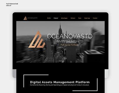 Oceanovasto  Corporate Landing