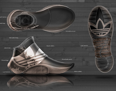 Autumn. Adidas Concept (Top & Bottom) + Material