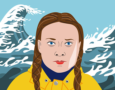 Greta Thunberg - portrait