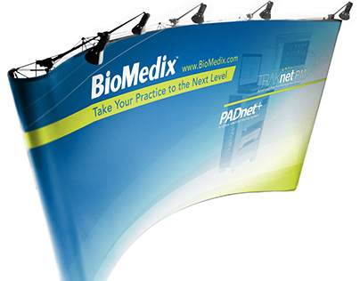 Tradeshow Displays - BioMedix