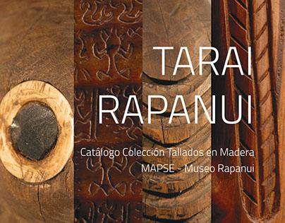 Libro Colección Tallados en Madera - Museo Rapanui